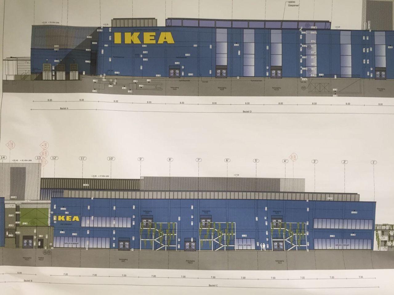 IKEA Gebäudezeichnung