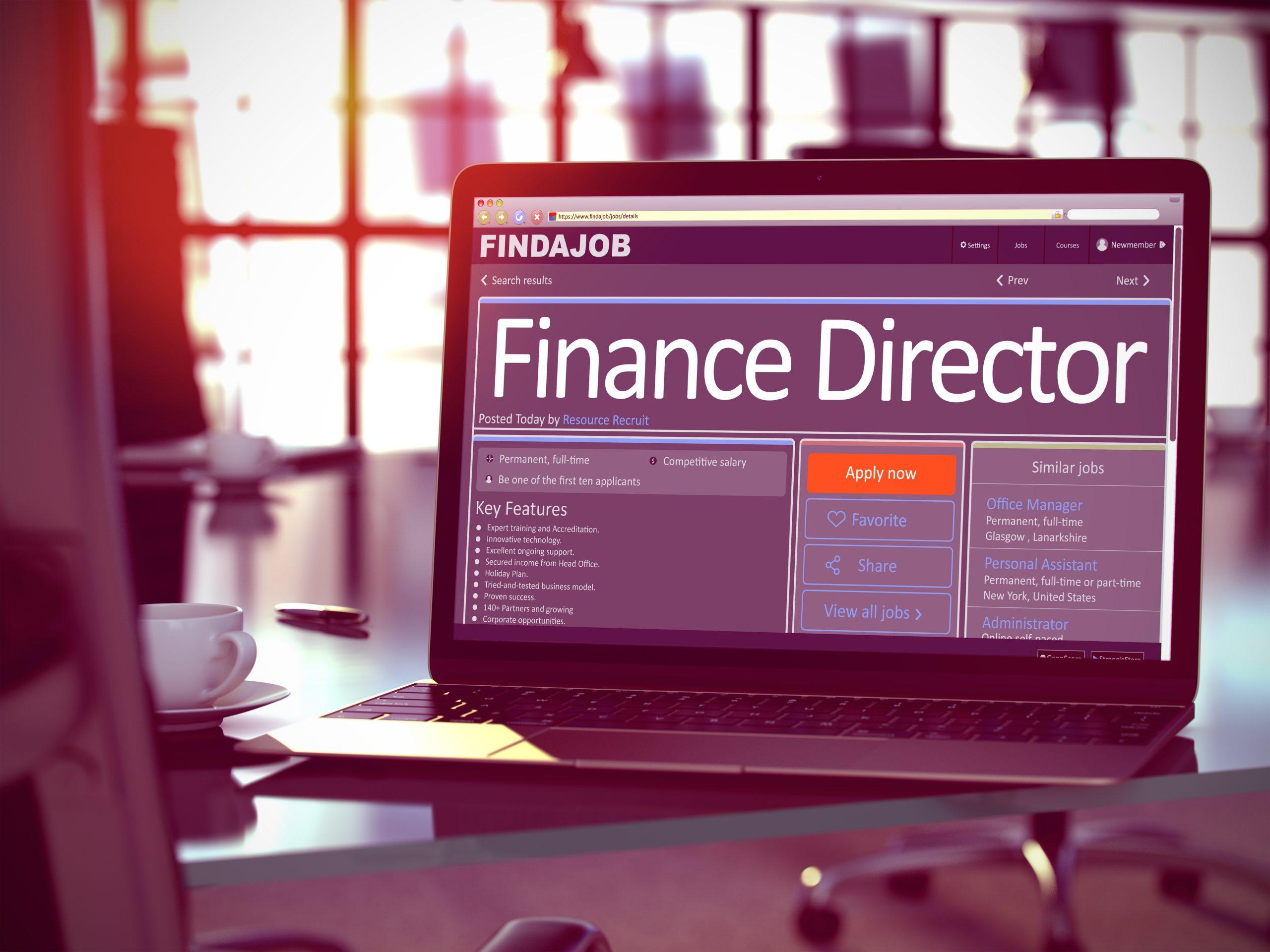Stellenangebot Director Finance
