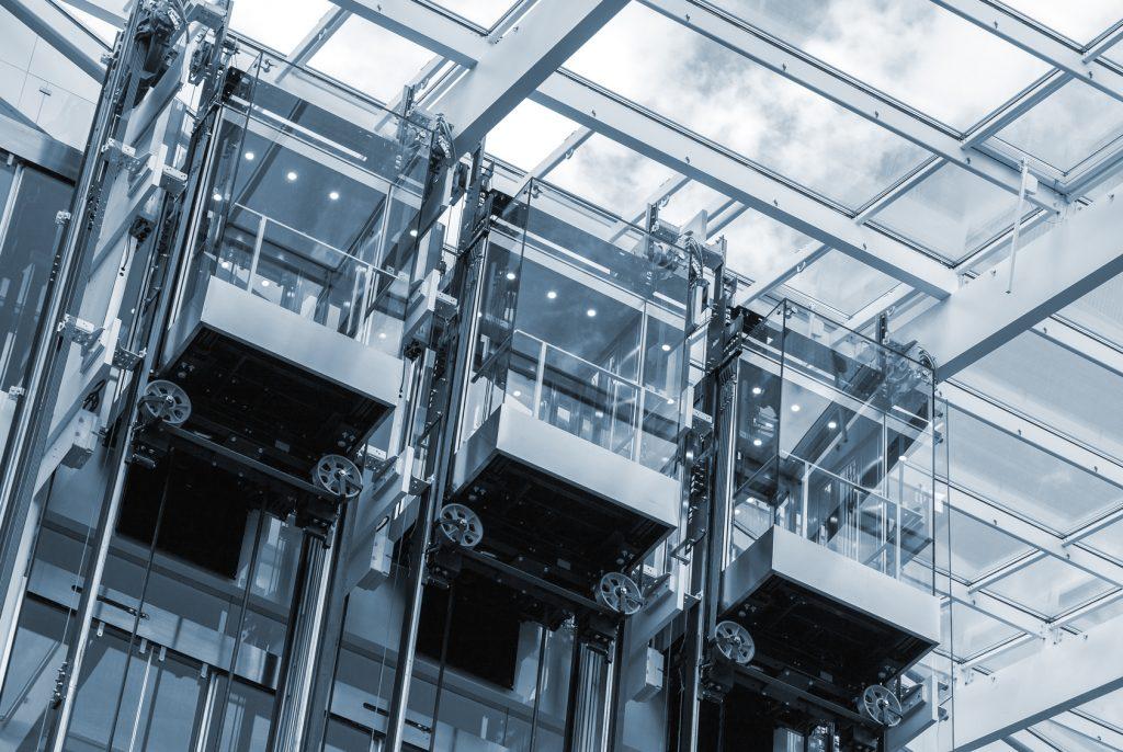 Aufzüge mit Glasfront